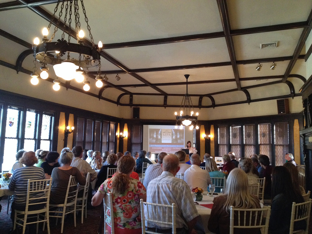 2014 Historic Preservation Awards at the Montana Club in Helena. Photo courtesy Patty Dean.
