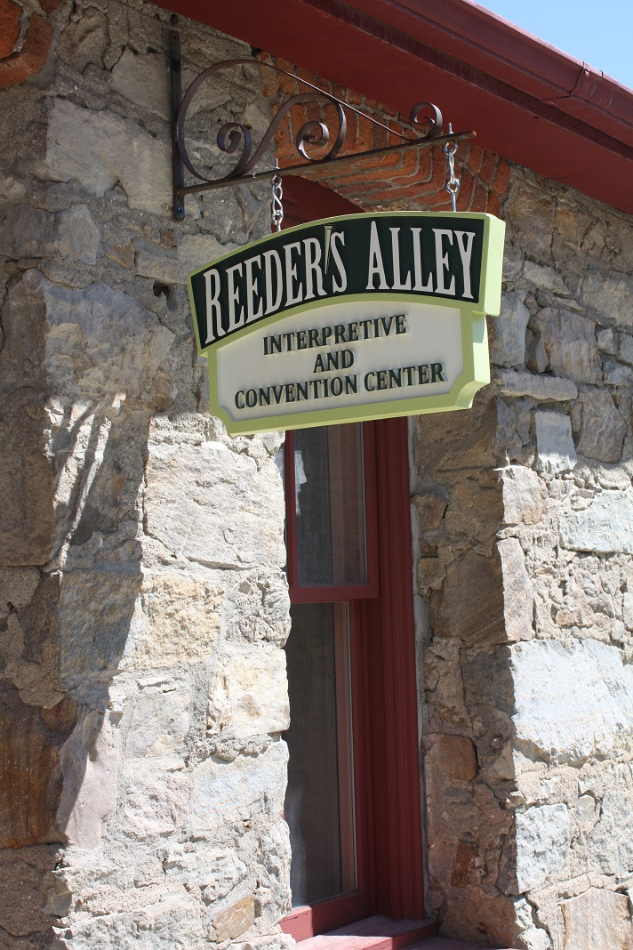 At the top of Reeder's Alley, the Montana Heritage Center has opened an interpretive center and meeting space for small groups.