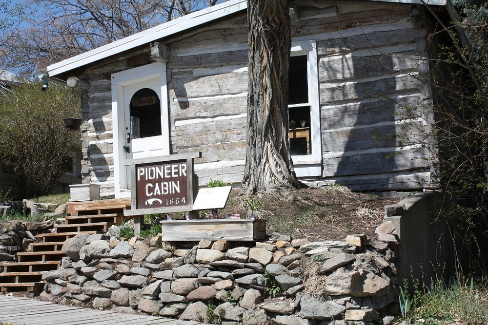 The 1864 Pioneer Cabin in Helena will re-open soon for guided and self-guided tours.