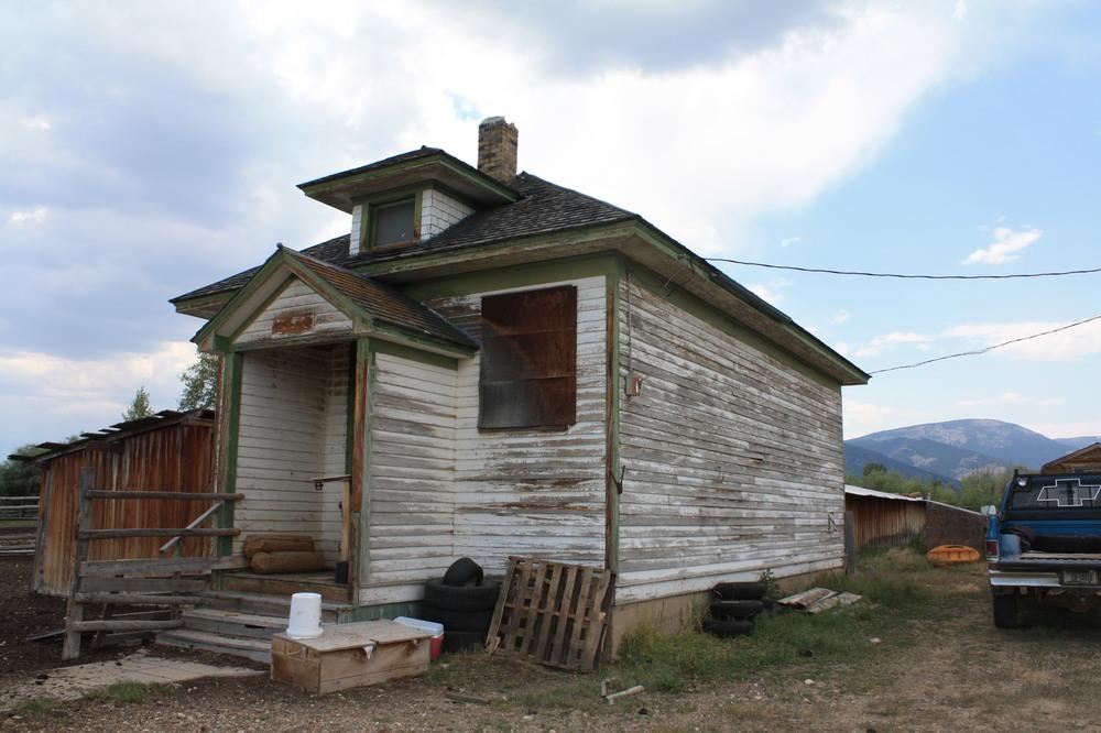 Birch Creek School in Beaverhead County.