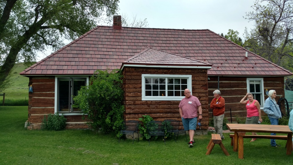 The cabin at the Torgrimson Place has a long history of hosting writers and artists. The Heyneman family keeps it in tip top shape.