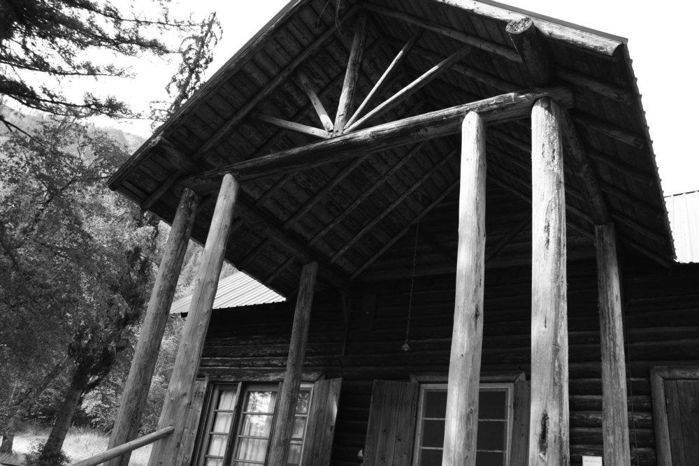 Burton K. Wheeler Cabin, Glacier National Park