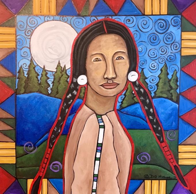 Peace of Heart, DG House, resident artist at Traveler's Rest State Park.  www.dghouseart.com