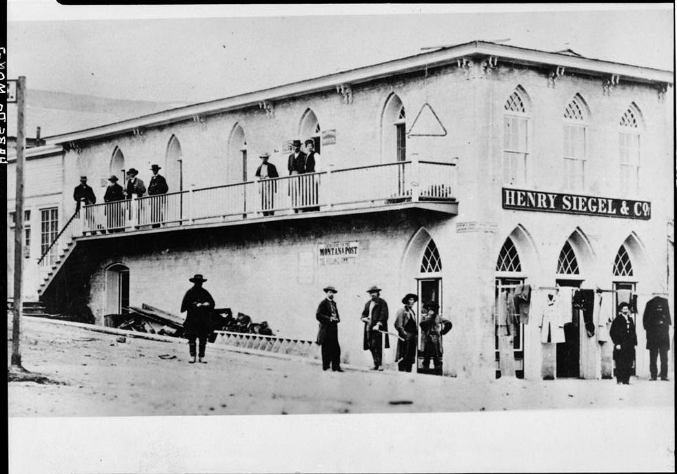 Content's Corner, Virginia City, ca. 1868