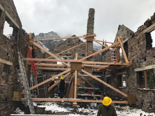 An outpouring of support for reconstruction of the Sperry Chalet raised over $100,000 in about one month.