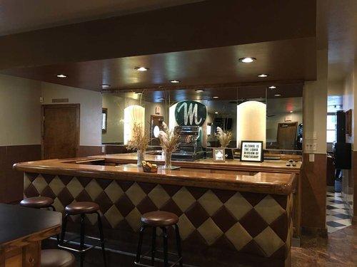 Moderne Bar inspired by montana preservation alliance