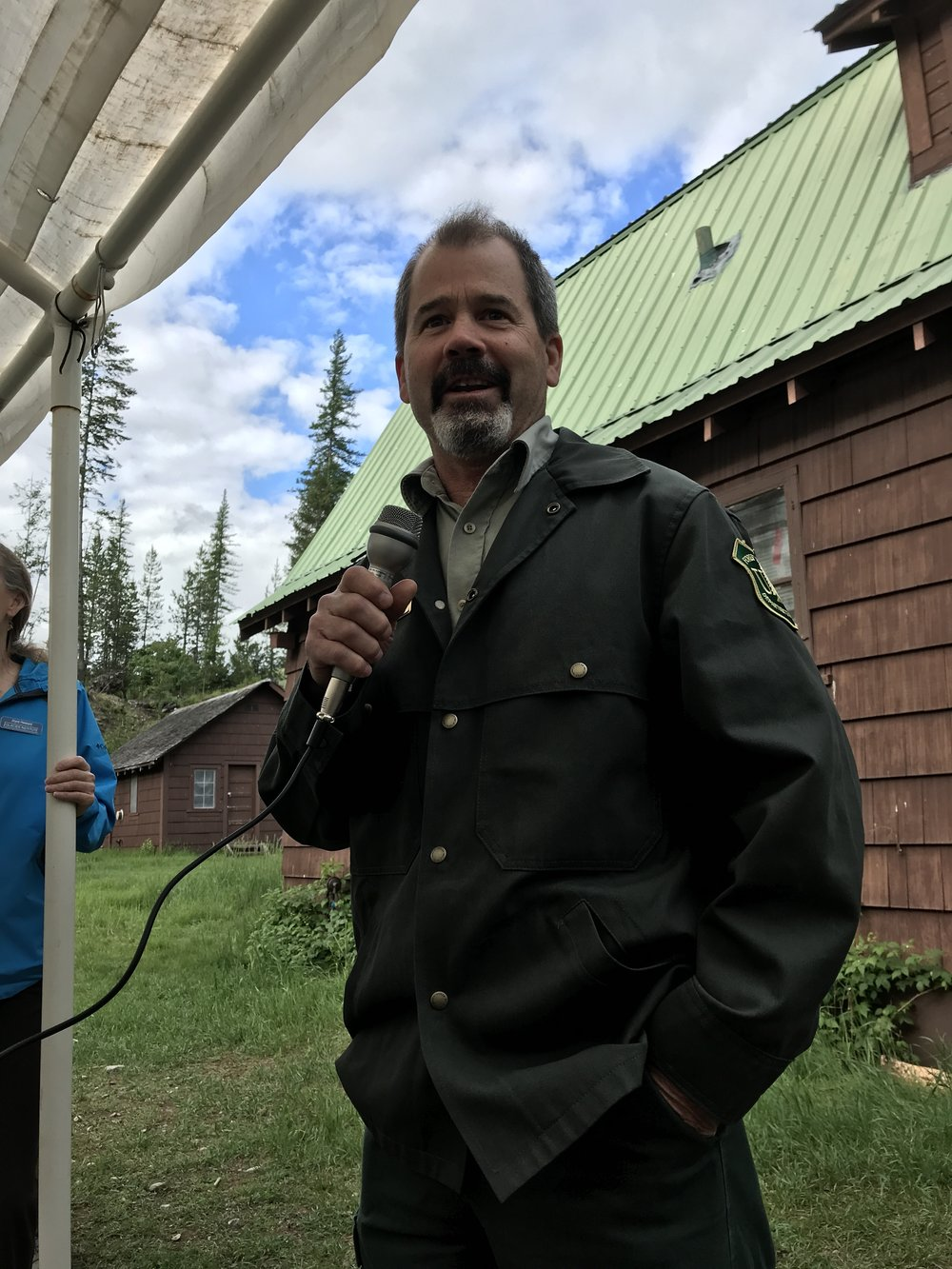 Glacier View District Ranger Rob Davies talks a bit about the history of forest management in the Big Creek area.