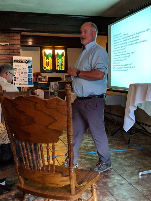 We were delighted to have Flathead National Forest Supervisor, Chip Weber, on hand to welcome the Road Show to the Flathead and Glacier regions. Mr. Weber emphasized the importance of agencies and local organizations working together to promote and encourage heritage stewardship.