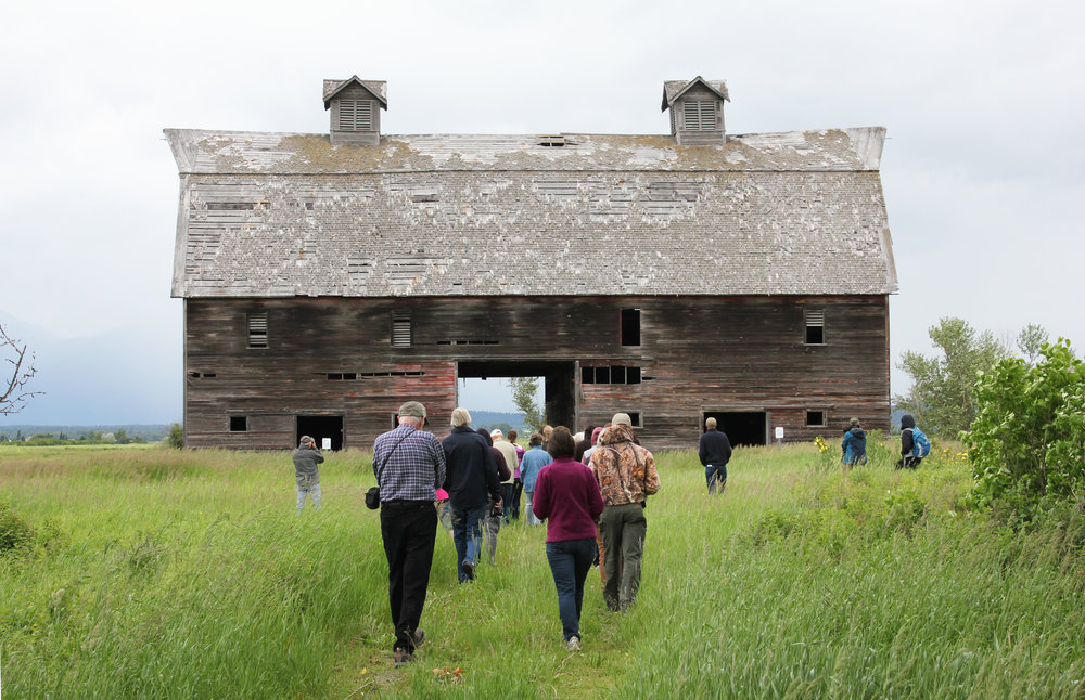 The Porter-Blasdel barn is an icon in the Lower Valley and one that many people hate to see wither over the years.