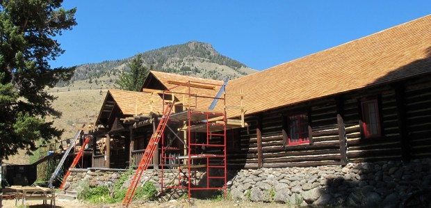 The OTO Lodge got a new roof with help from MPA and University of Pennsylvania students in 2013.