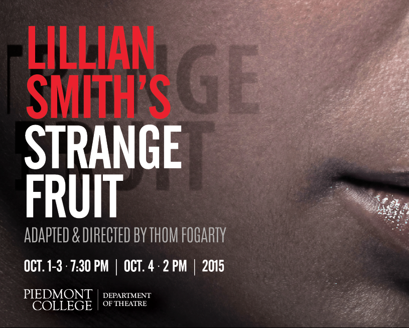 Lillian Smith's Strange Fruit Poster