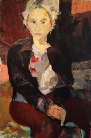Portrait of B, 1999, Oil on Canvas