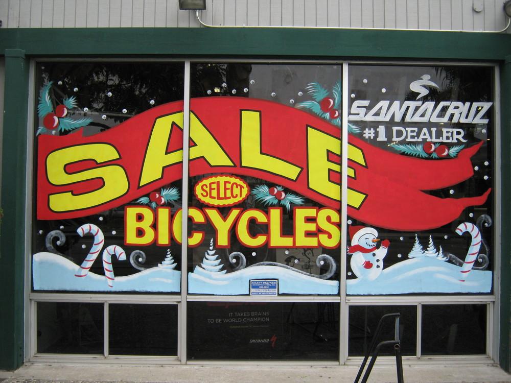Santa Cruz Bike Shop by Melissa Designs