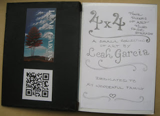 Inside cover with a QR code that comes here to this web site!