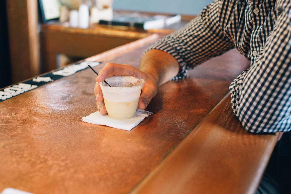 The Painkiller--OJ, Coconut Creme, Pineapple, White Rum