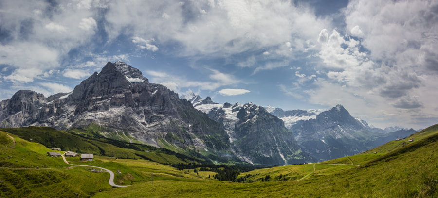 View from Grosse Scheidegg