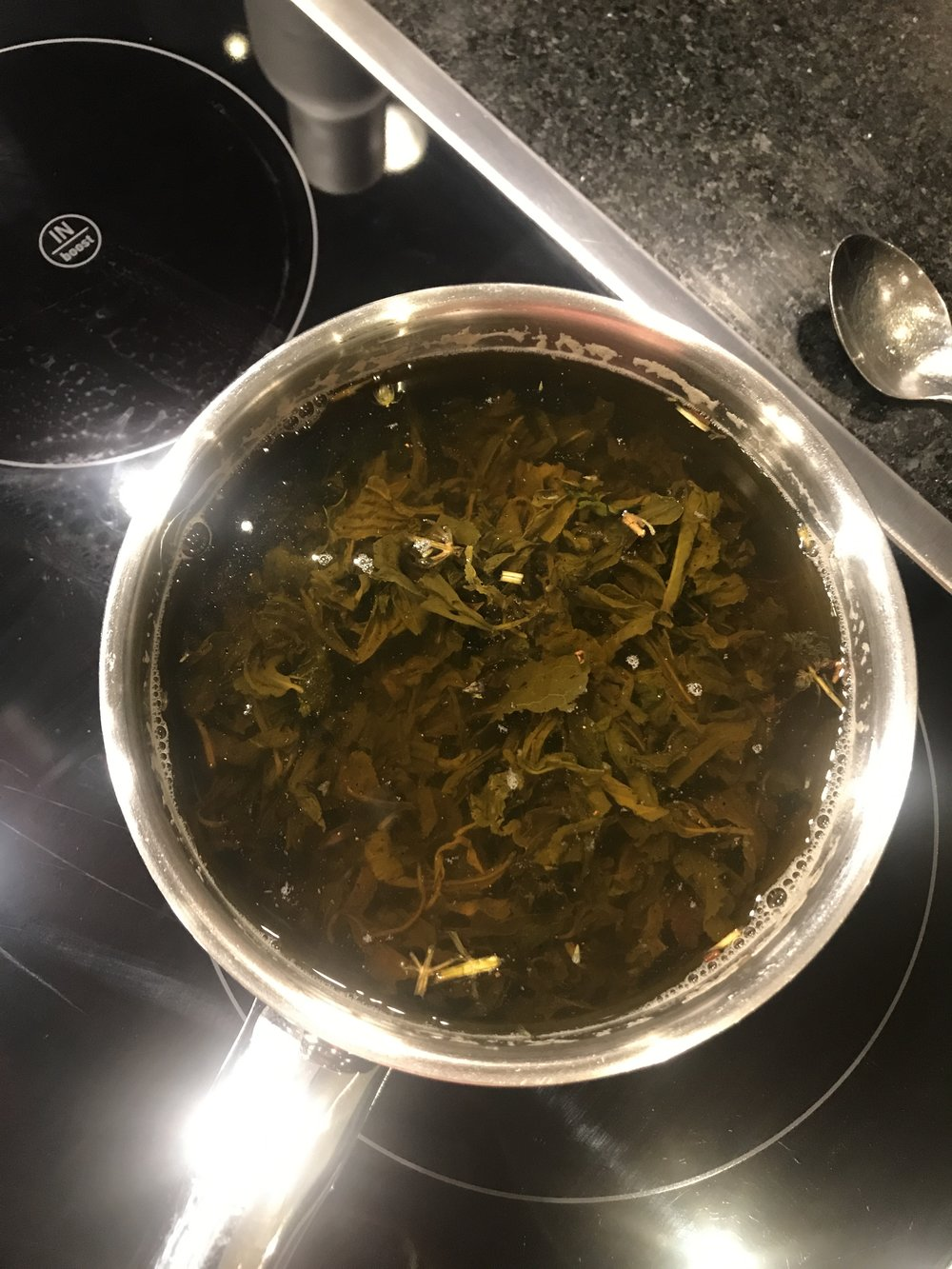 Steeping in a Pot