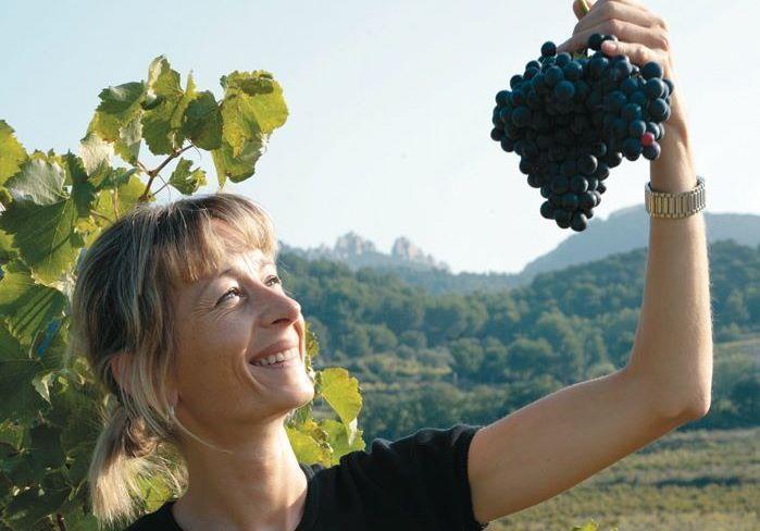 Cecile Dusserre, Owner/Winemaker Domaine de Montvac, Vacqueyras, France