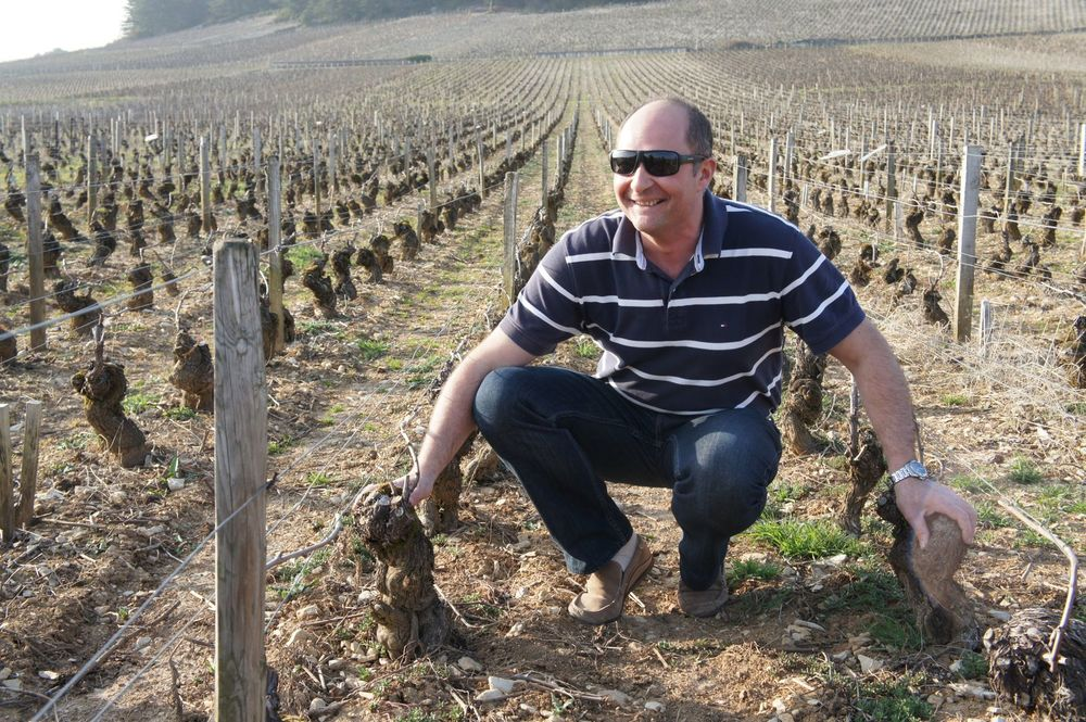 Alexis Delagrange, Owner/Son of Didier (pictured) of Domaine Delagrange, Volnay, France