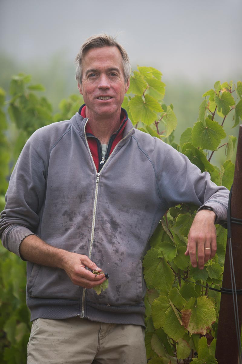 David Jeffrey, Owner/Winemaker Calluna, Chalk Hill, Sonoma