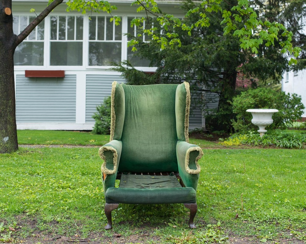 Green Chair, 2016
