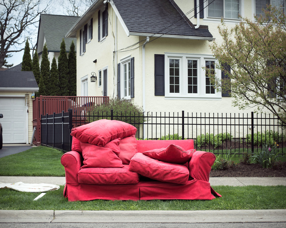 Red Couch, 2016