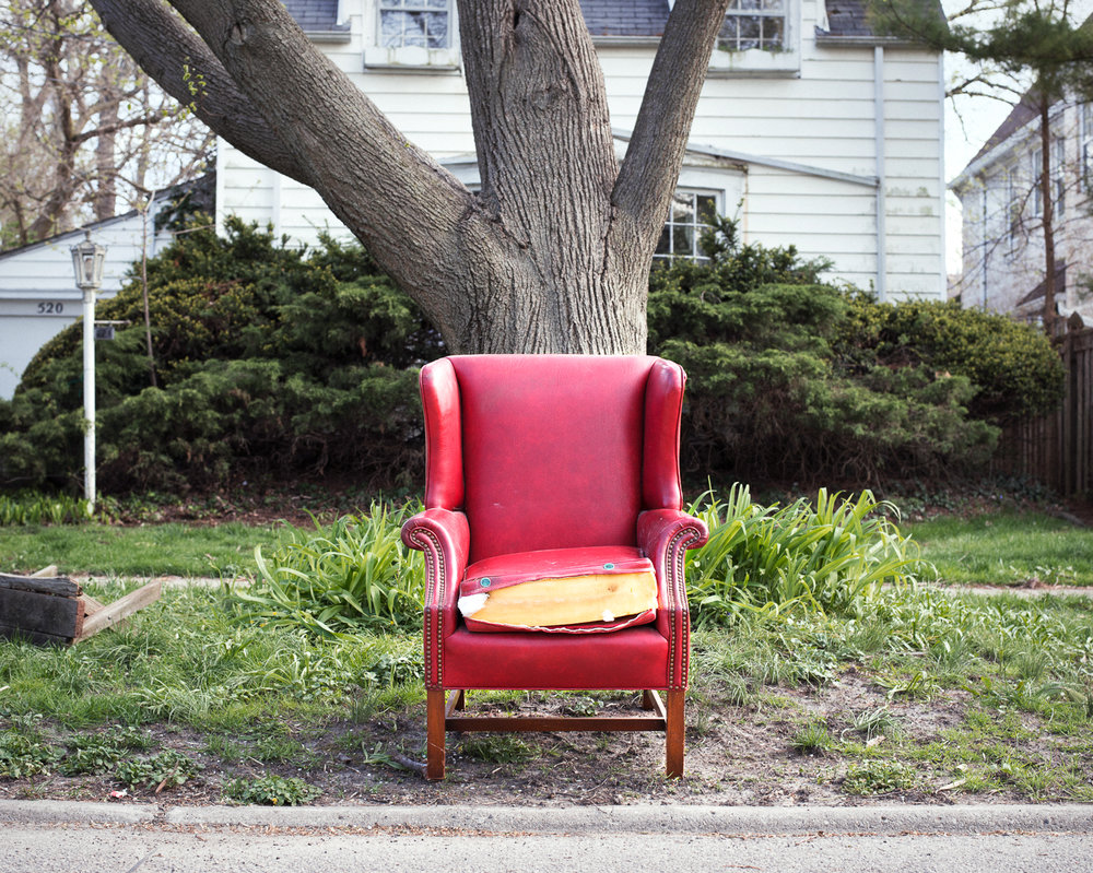 Red Chair, 2016