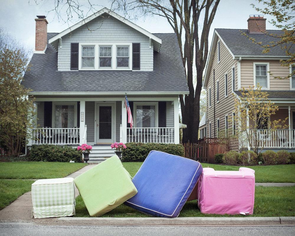 Four Cushions, 2016