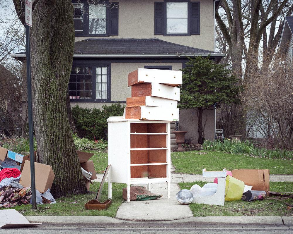 White Dresser, 2014