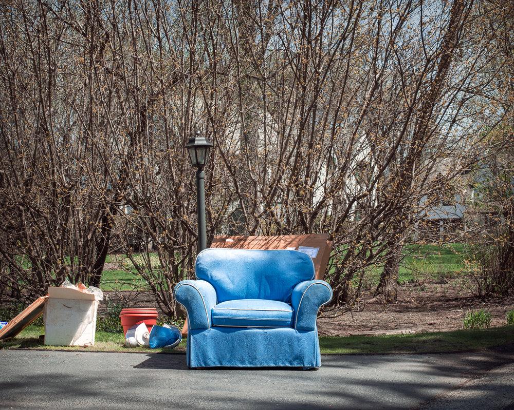 Blue Chair, 2015