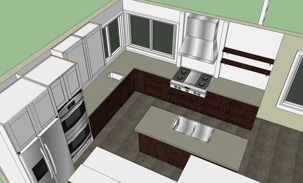 kitchen layout plans montana prairie tales
