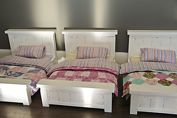 Free Wooden Doll Bed Plans