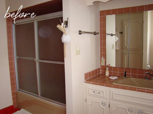 It made a huge difference in opening up the bathroom  It did leave some  marks on the tub  that I can t get off despite trying vinegar  lime away   etc a red letter day   Montana Prairie Tales. Replacing Glass Shower Doors With A Curtain. Home Design Ideas