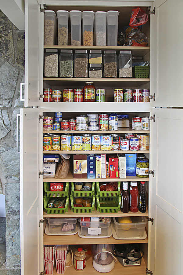Pantry cabinet food storage pantry cabinet with for 30 deep kitchen cabinets