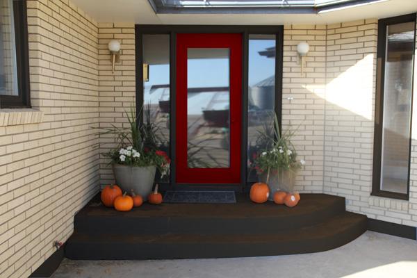 feng shui colours your west front door