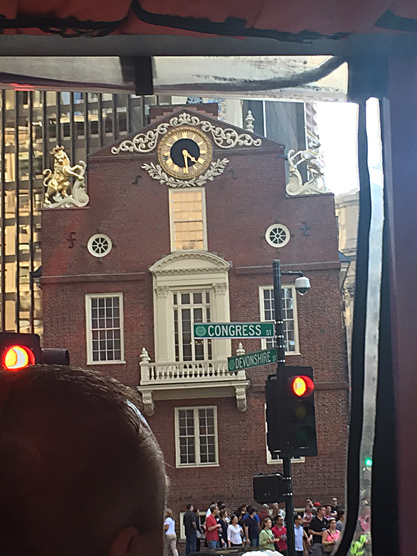 This is building is where the Declaration of Independence was signed.