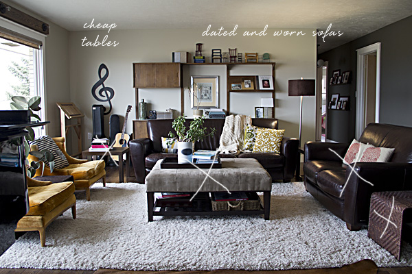 ... Living Room. I Could Have Taken New Photos, But In Reality, Not Much  Has Changed In That Time. Here Is What I Would Love To Change In My Current  Space: