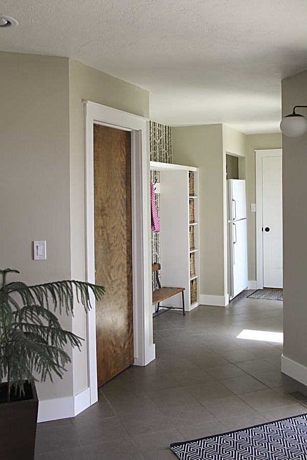 But these were not nice solid wood doors. They were laminated hollow core doors\u2014some painted some not and not matching throughout the house. & Interior door upgrade \u2014 Montana Prairie Tales