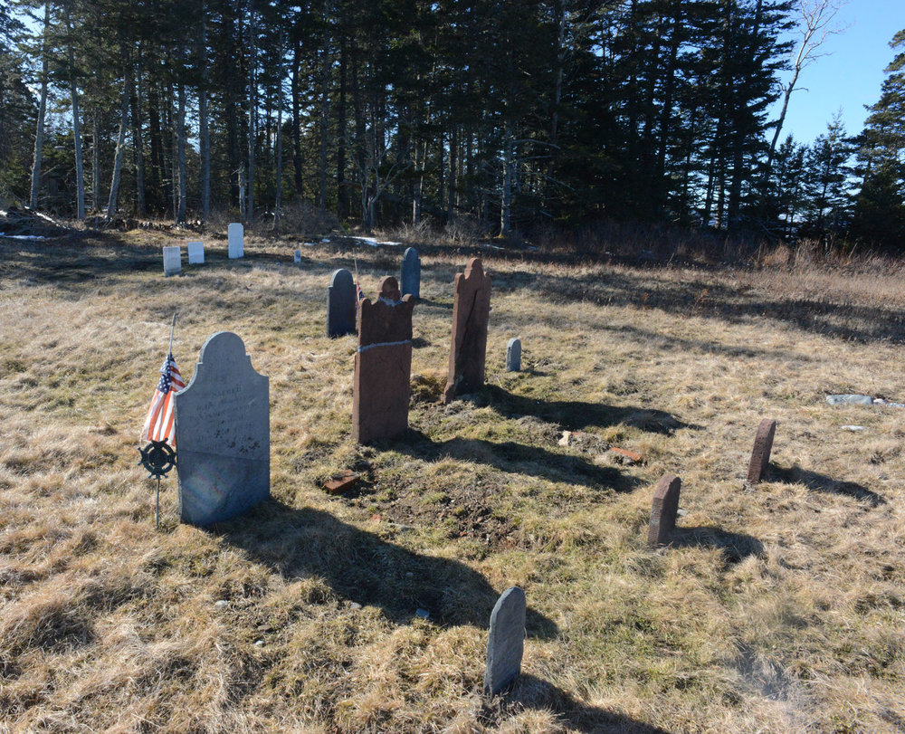 Spurling Revolutionary War Cemetery February 2017 - just after the project was completed. (Photo: Josh Hastings)