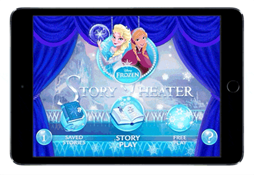 Disney Frozen Title Screen BEFORE Core Animator