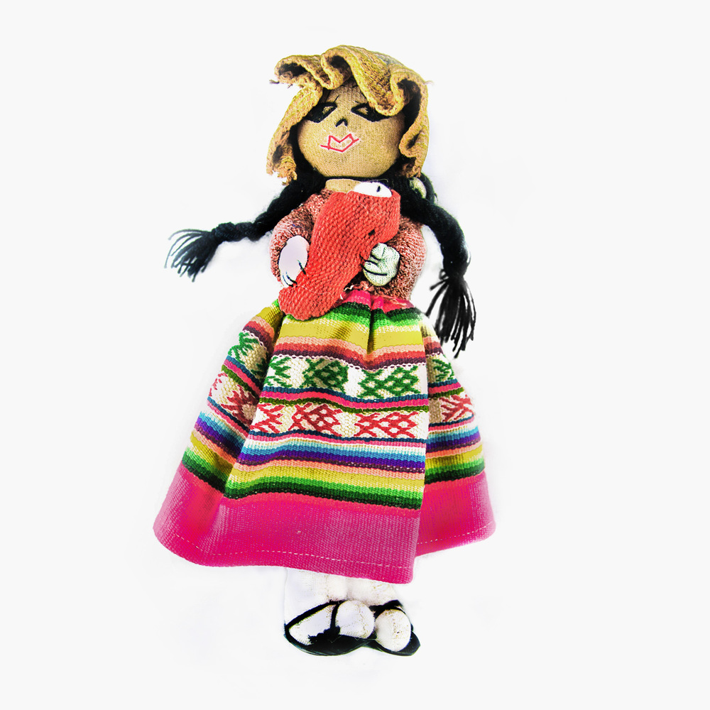 Art Dolls-ooak 01 Peruvian Handmade Dolls Dolls & Bears