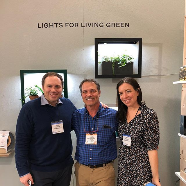 Exploring at @americasmartatl.  Loved @modsprout and their #innovativedesign projects for growing flora and fauna in even the darkest of rooms!  #homeandgarden #growplants #cleanairplants #madeintheusa.  Coming soon to @charliethigpens!