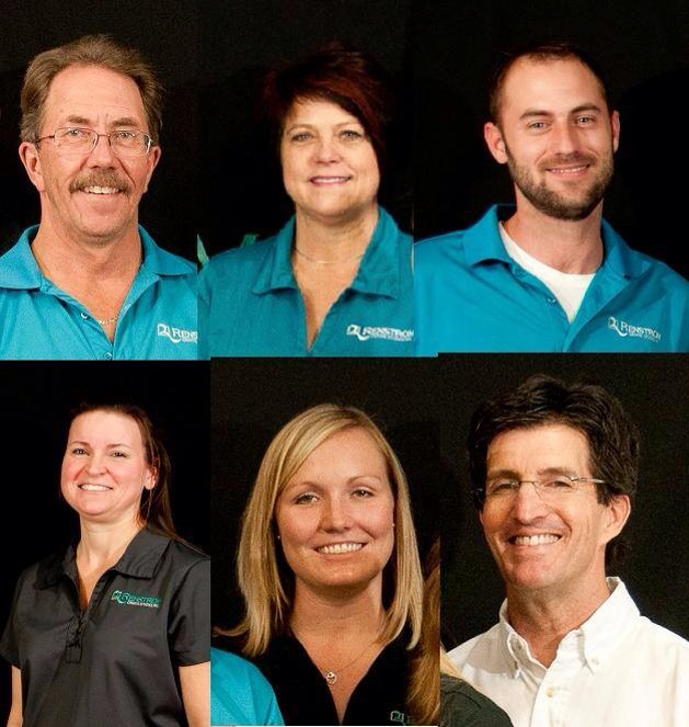 Top: Rick, Ruth, Brian.  Bottom: Deanna, Randi, Dr. Jeff Benson: 2014 Star of the North Attendees