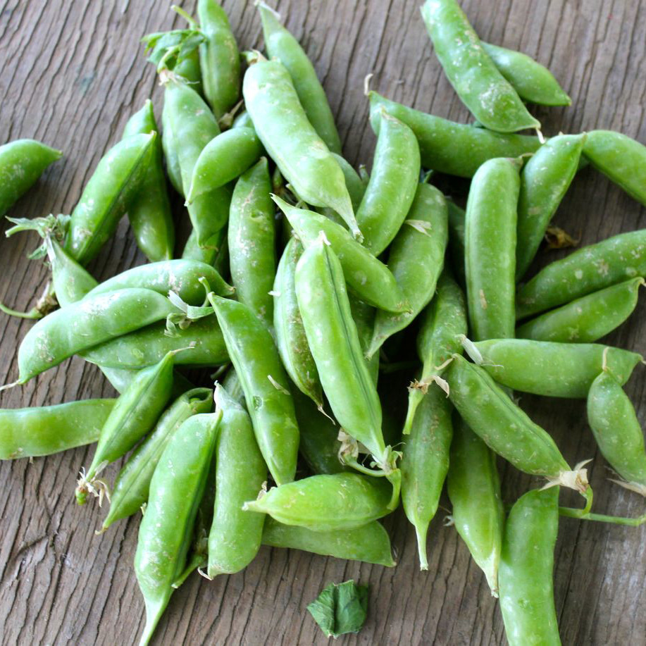 Snap Peas – One of our favorites - wash and eat these raw. When they are fresh, they are crisp, juicy and sweet. Steam them a few minutes until they are tender and they make a great addition to any main dish.
