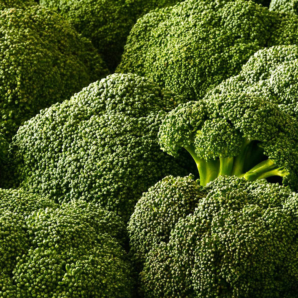 Broccoli – Broccoli can be eaten raw and is great with dips like hummus. When sauteed or steamed, broccoli should not be overcooked. Cook just until tender or al dente. Broccoli's flavor is best when it still has a bite to it. Don't discard the stems! Broccoli stems are just as flavorful as the florets, they just need to be peeled and cooked a bit longer than the florets, but they are just as delicious!