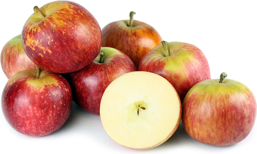 Fuji Apples - These yummy apples have it all. They're super sweet, juicy, and crisp. They have the highest amount of important flavonoids among all types of apples which helps fight against heart disease and reduce cholesterol. You may notice some slight rusting on the skin of these apples, but don't worry, that doesn't effect their flavor!