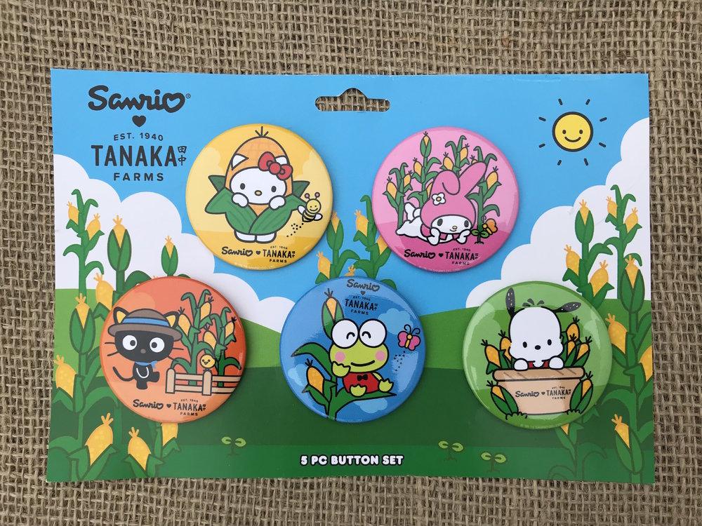 37ac5cca2 Sanrio - 5pc Button (Corn)2.jpg