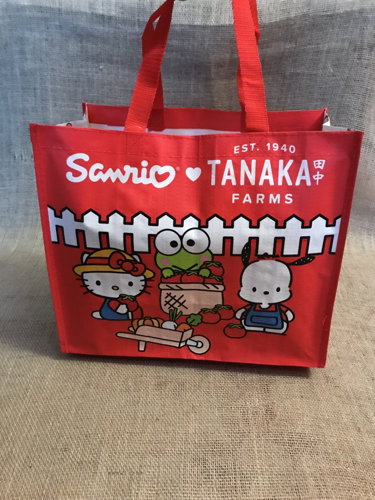Sanrio Red Reusable Bag Front.jpg.