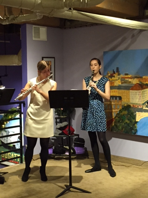 The Cascade Duo at C'est Chic Boutique, November 2015