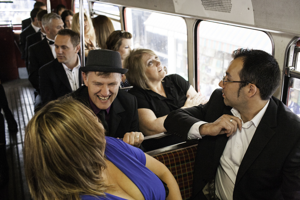 Post Office awards guests get excited as they draw closer to the Troxy venue in East London